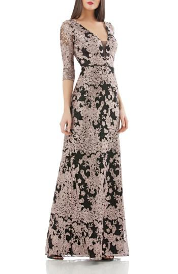Mariage - JS Collections Embroidered Lace Gown