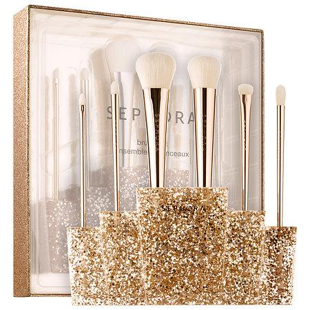 Hochzeit - Glitter Happy Brush Set