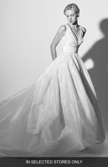 Wedding - Carolina Herrera Felisa Silk Taffeta Ballgown