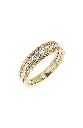 Свадьба - Bony Levy Diamond Stack Ring (Nordstrom Exclusive)