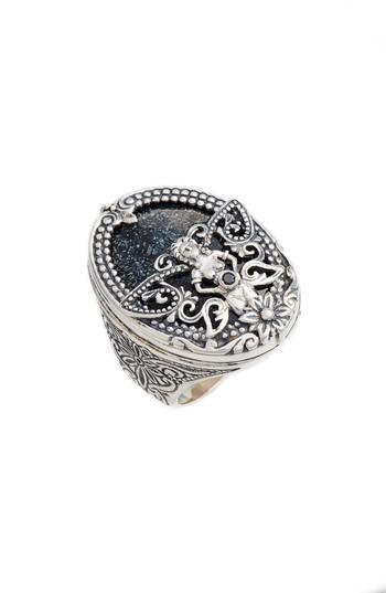 Wedding - Konstantino Santorini Hematite Ring