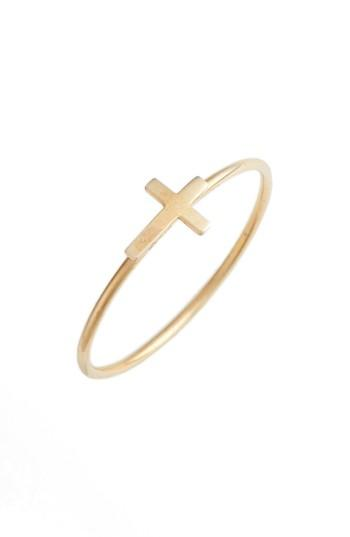 Mariage - Bony Levy Cross Stacking Ring (Nordstrom Exclusive)