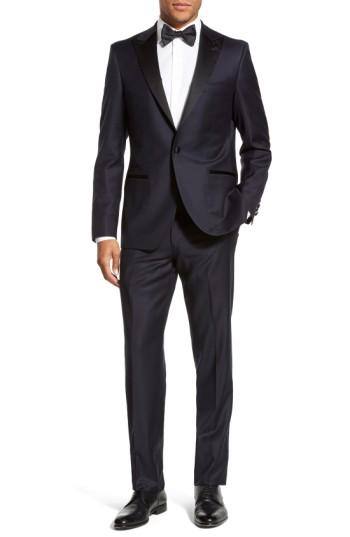 Свадьба - Strong Suit 'Aston' Trim Fit Solid Wool Tuxedo