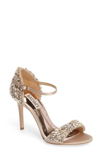Свадьба - Badgley Mischka Tampa Ankle Strap Sandal (Women)