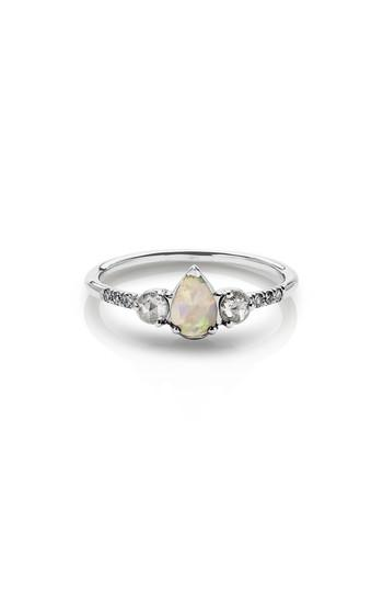 Wedding - MANIAMANIA Radiance Opal & Diamond Ring