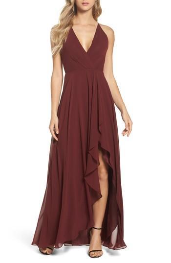 Wedding - Jenny Yoo Farrah Ruffle Skirt Chiffon Gown
