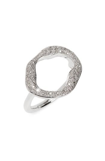 Wedding - Monica Vinader Pavé Diamond Circle Ring (Special Purchase)
