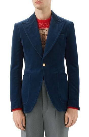 Свадьба - Gucci Velvet Jacket