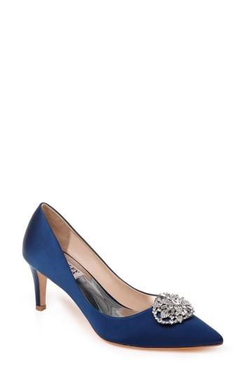Wedding - Badgley Mischka Sunshine Embellished Pump (Women)