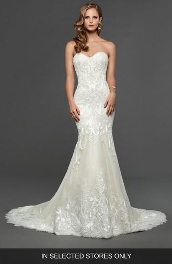 Свадьба - Matthew Christopher Claire Strapless Sweetheart Trumpet Gown