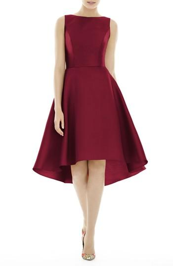 Wedding - Alfred Sung High/Low Cocktail Dress