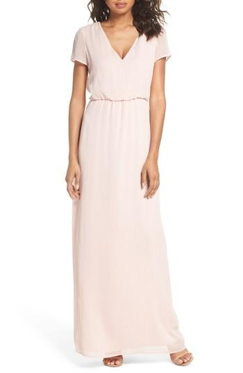 Wedding - WAYF Anna Tie Back Gown