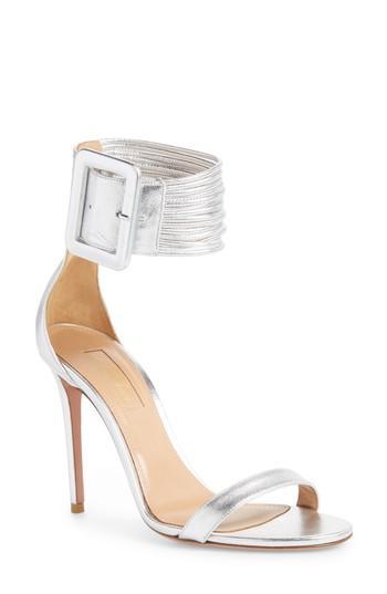 Aquazzura Women's Casablanca Ankle Cuff Sandal H48ILSc