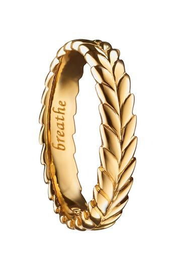 Mariage - Monica Rich Kosann Breathe 18K Gold Ring