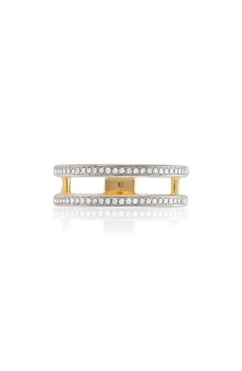 Mariage - Monica Vinader Skinny Double Band Diamond Ring
