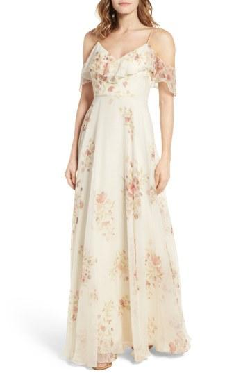Hochzeit - Jenny Yoo Mila Off the Shoulder Gown