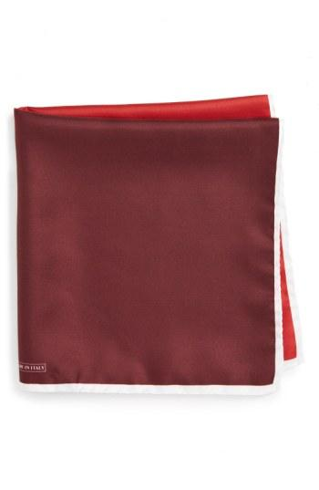 Mariage - Nordstrom Men's Shop Silk Pocket Square