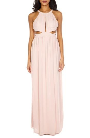 Mariage - TFNC Evanthe Cutout Chiffon Gown