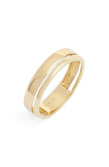 Hochzeit - Bony Levy Split Band Ring (Nordstrom Exclusive)