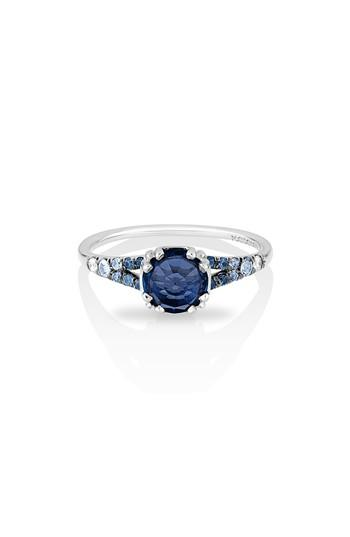 Wedding - MANIAMANIA Devotion Gradient Sapphire Solitaire Ring
