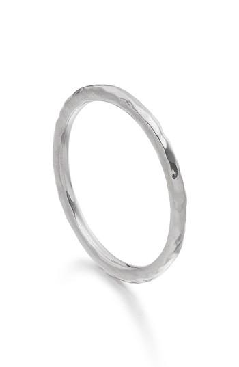 Mariage - Monica Vinader Siren Hammered Ring