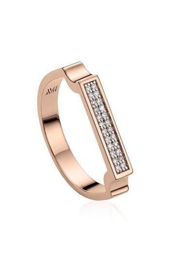 Boda - Monica Vinader Diamond Signature Ring