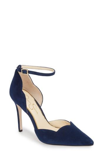 زفاف - Jessica Simpson Pairus Scalloped d'Orsay Pump (Women)