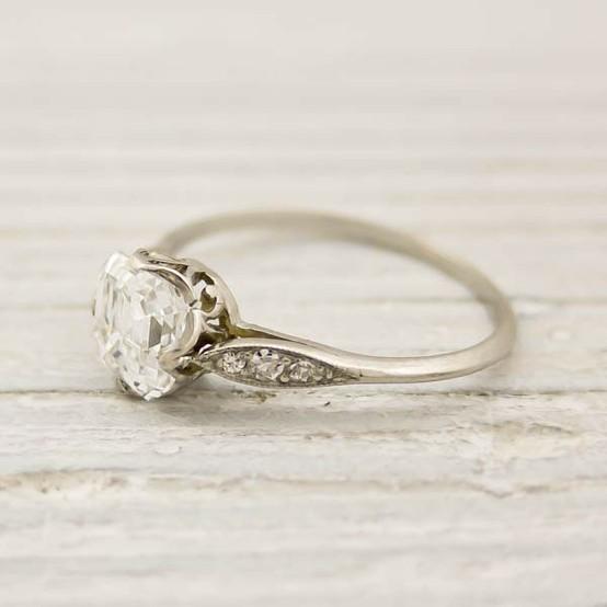 luxury diamond wedding ring unique engagement ring - Old Wedding Rings