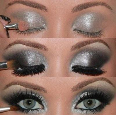 Mariage - Metallic Gray Smokey Eye Makeup Tutorial photo