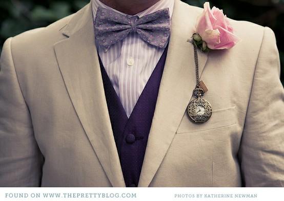 Mariage - Vintage Boutonniere Boutonniere ♥ unique pour Groom