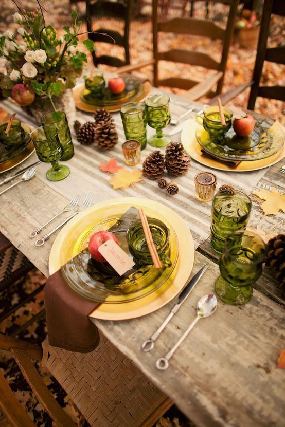 Garten Hochzeit Herbst Hochzeit Tischdeko Ideen 791381 Weddbook