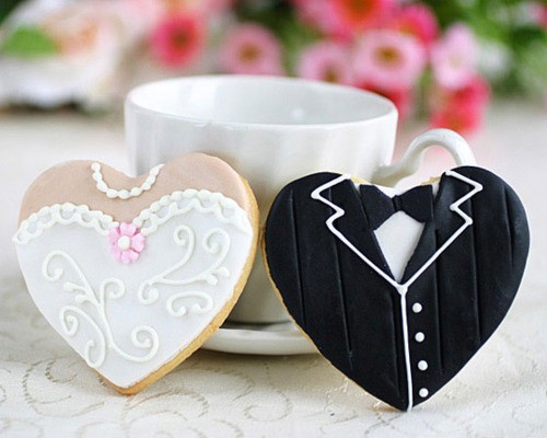 Wedding - Creative Wedding Cookies ♥ Unique Wedding Favors