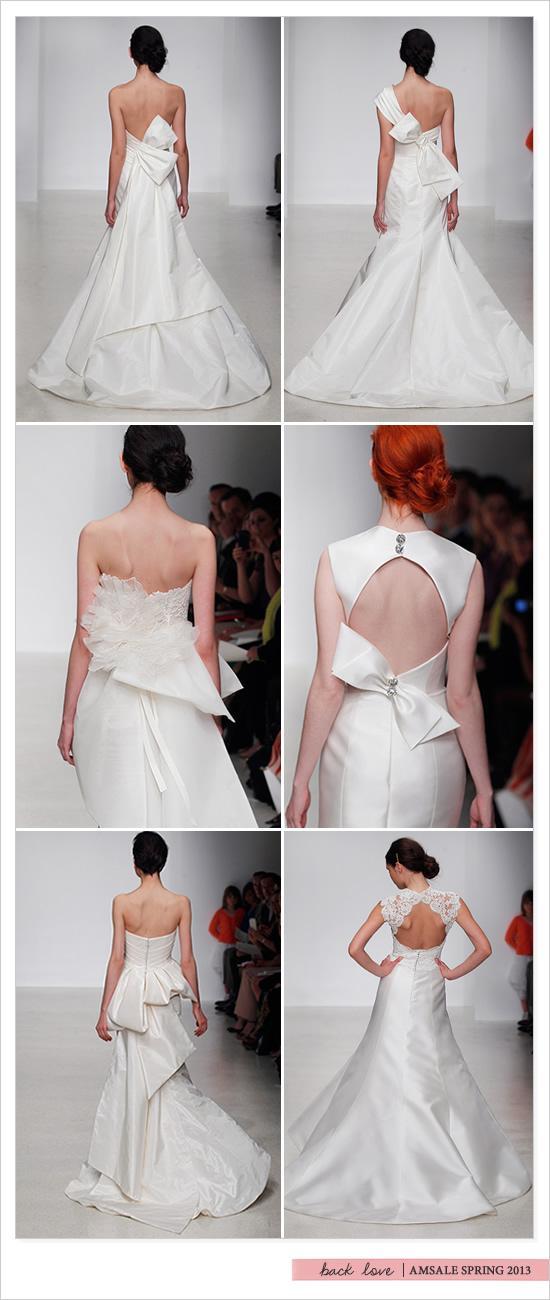 زفاف - Amsale الربيع يساند الزفاف 2013