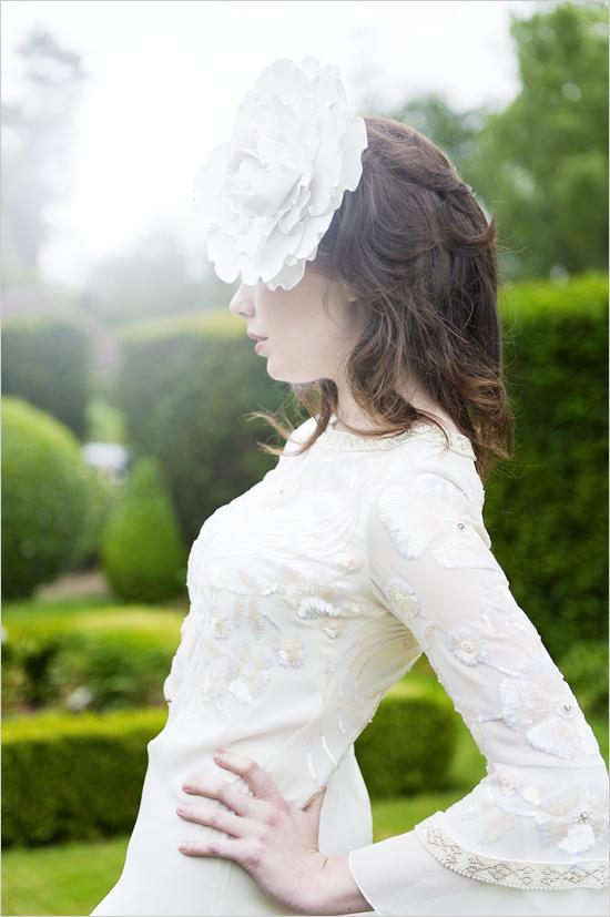 Свадьба - Семидесятые свадебное платье