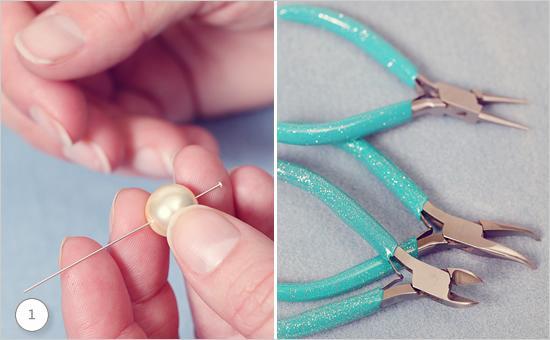 Wedding - Drop Pin Earrings