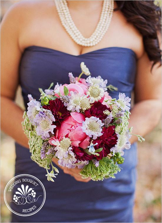 Boda - Pink Purple Bouquet