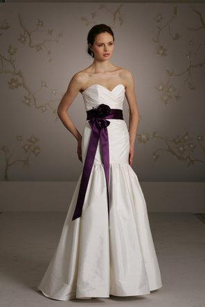 Jim hjelm jim hjelm blush 794485 weddbook for Purple and ivory wedding dresses