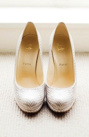 زفاف - أحذية لوبوتان المسيحية عرس زفاف شيك ♥ وعصرية أحذية عالية الكعب