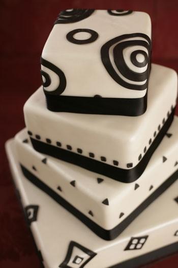 pasteles de boda modernos