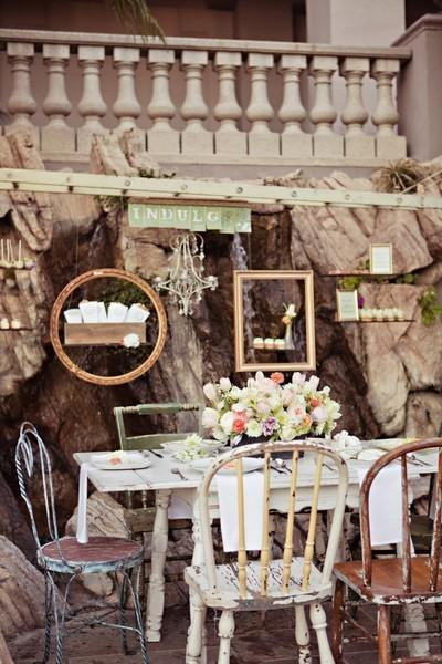 vintage wedding mobel