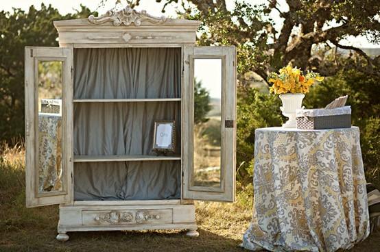Vintage d n vintage gelinlik mobilya 797313 weddbook for Mobilya wedding