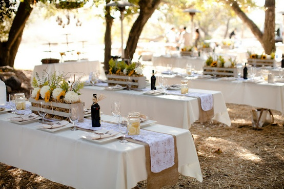 Rustic Wedding - Rustic Wedding Reception Decor #797353 - Weddbook