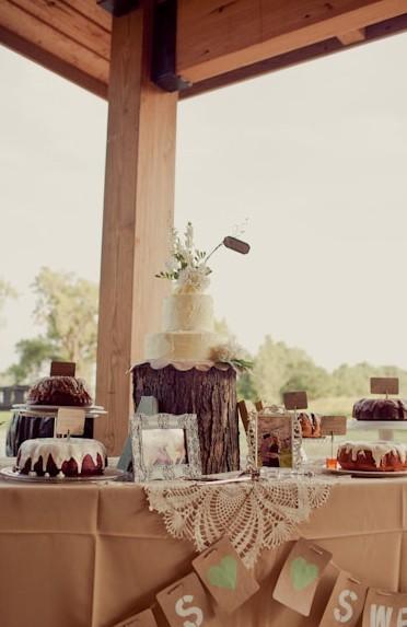 Wedding Reception Decor Rustic : Rustic wedding reception decor