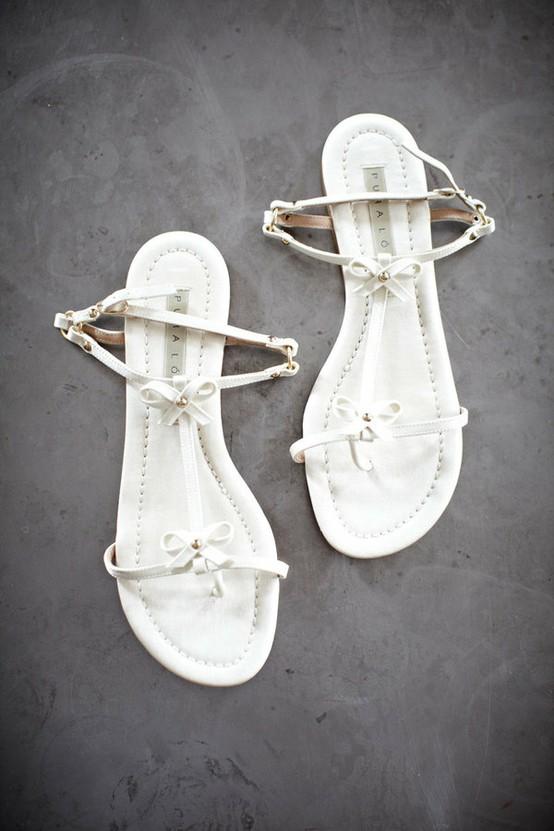 Свадьба - Шикарные и удобные сандалии Свадебные