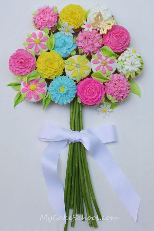 زفاف - الإبداعية الكعك الزفاف ♥ كب كيك الزفاف زينة