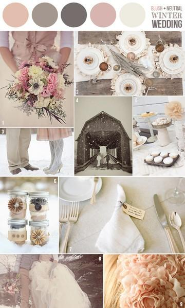 Blush Wedding - Blush Wedding Color Palettes #798534 - Weddbook