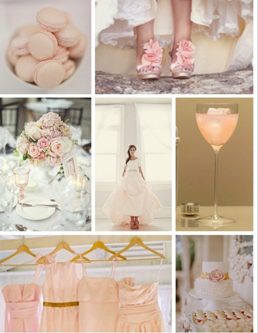Blush Wedding - Blush Wedding Color Palettes #798556 - Weddbook