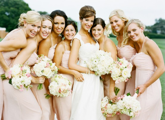 Wedding - Blush Wedding Color Palettes