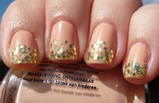 Peach Wedding Bridal Nail Designs Wedding Nail Art 798583