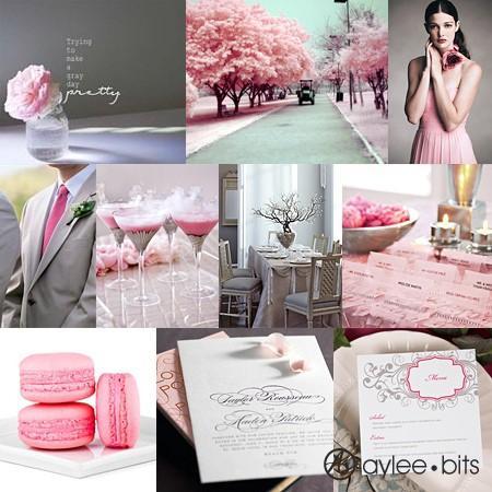 mariage blush palettes de couleurs rose p226le de mariage